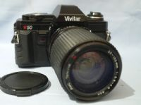 Minolta MD Fit Vivitar V50 SLR Camera + 35-135mm Zoom Macro Lens £24.99